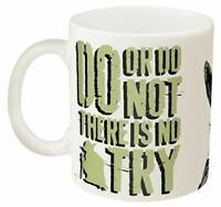 Zak Designs SWRA-8510 Star Wars Coffee Mugs Medium Ceramic Ep4 Yoda
