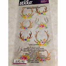 Sticko Flowers and Antlers CL18 52-01542, Other