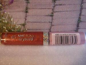 CoverGirl Wetslicks Crystals Lasting Shine Lip Gloss SASSY COLOR CODE 430 SEXY