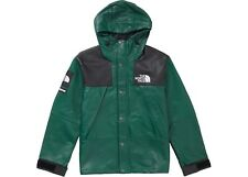 Supreme x The North Face Leather Mountain Parka - Dark Green - Large FW18