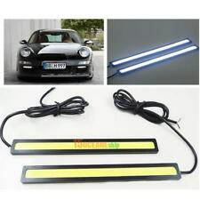 2 Pcs 12V LED COB Auto DRL Fahren Tagfahrlicht Nebelscheinwerfer Hot Wasserdicht