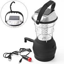 Lampe de camping rechargeable 36 LED - lanterne avec câble USB et crochet jardin