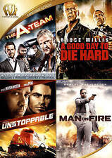 The A-Team/A Good Day to Die Hard/Unstoppable/Man on Fire (DVD 2015 4-Disc Set)