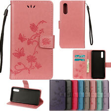 Lotus Wallet Leather Case Flip Stand Phone Case Cover For Samsung S9 Huawei P20