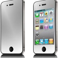 Pack 6 Films de protection (3 Avant + 3 Arrière) Miroir HD ® iPhone 4 / 4S