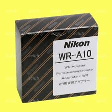 Genuine Nikon WR-A10 Wireless Remote Controller Adapter for WR-R10 Transceiver