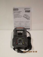 Ryobi ONE+ P118 TRI-MODE LITH/NI-CD/LITH+ Charger for 18V BATTERIES F/SHIP NEW!!