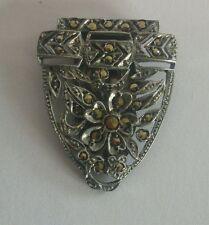 Marcasite Brooch/Pin Art Deco Costume Jewellery