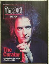Robert Smith - The Cure - Time Out magazine – 12 June 2018