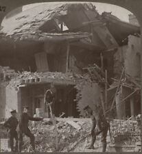 Soldiers Interested in the Wreckage Caused by the German Bombardment, Lowestoft