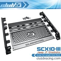 Scale Full Length Roof Rack for SCX10 III Jeep JT Gladiator