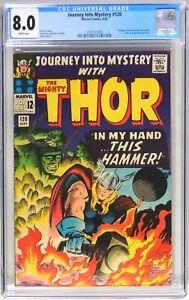 D210 Journey into Mystery #120 Marvel CGC 8.0 VF (1965) Avengers Cameo