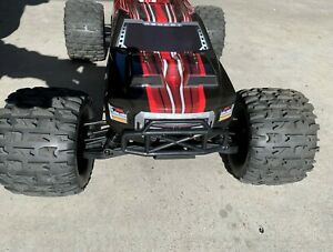 REDCAT RACING SHREDDER remote control 1/6 red monster truck with belted tires