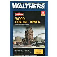 Walthers 933-3823 Wood Coaling Tower Kit N Scale Train