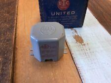 NOS NIB Vintage UTC S-80 Tube Audio Transformer