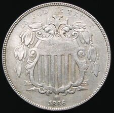 More details for 1866 | u.s.a. nickel 5 cents | cupro-nickel | coins | km coins