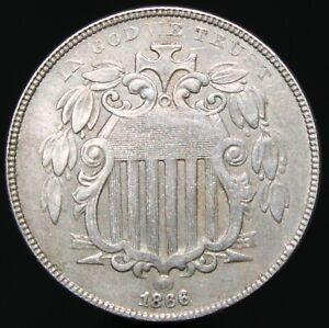 1866 | U.S.A. Nickel 5 Cents | Cupro-Nickel | Coins | KM Coins
