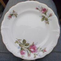 Aladdin fine china roses Pink Moss Highland Royal Japan salad dessert plates