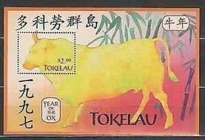Tokelau - Blätter Yvert 14 MNH Fauna