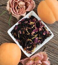 Apricot Rose Black Tea 4 ounce loose leaf China Black Tea and smooth apricot