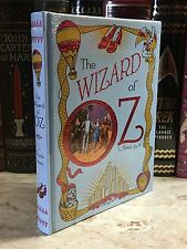 THE WIZARD OF OZ by L. FRANK BAUM Illustrated, Leatherbound & BRAND NEW!