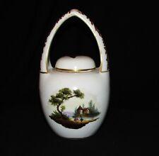 MEISSEN RARE POT A THE ANCIEN 19 ème / antique vase / porcelaine de Saxe