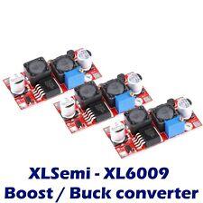 3x XL6009 Boost Buck Module DC-DC adjustable step up down Voltage Converter