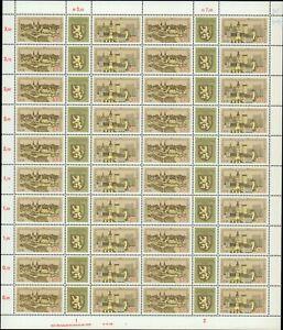 DDR Nr. 2153/54, C1, postfrisch im Zusammendruckbogen, Bogen, Zdr.-Bogen, DV