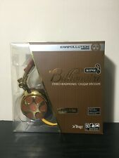 iFrogz EarPollution DJ Style Billionaire Headband Headphones - Brown/Gold