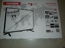 Telefunken Smart TV D40F289N3CW 102cm-40`` Schwarz Neu Ungeöffnet