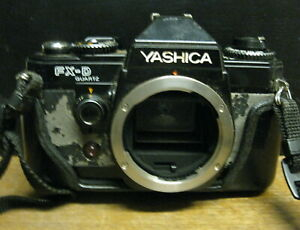 YASHICA FX-D QUARTZ - BODY ONLY