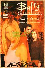 Buffy The Vampire Slayer Play With Fire TPB Rare Fox Dark Horse Promo Variant!