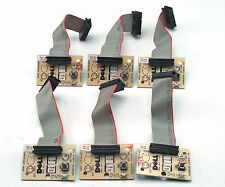 LOT 6 DELL OPTIPLEX W1158 U1456 FRONT POWER BUTTON PANEL WITH T1337 CABLE 45VEX