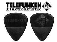 TELEFUNKEN Graphite Guitar Pick - 1mm (6 Pack)