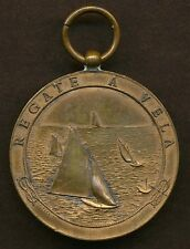 Antique Sailing Regatta Medal by P. Ferrea