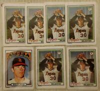 Nolan Ryan Rare 7 Card Ceramic LIMITED EDITION baseball Cards HOF Angels