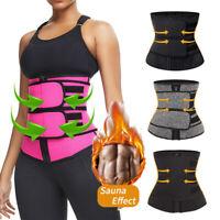 Waist Trainer Cincher Trimmer Sweat Body Shaper Belt Men&Women Shapewear Workout