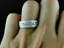 1.5 Carat Round Cut Solitaire Engagement Ring 14k White Gold