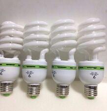 30W=130W Warm light 4000K CFL Lightbulb Energy Saving Bulb E27, FOUR LAMPS,£4.99