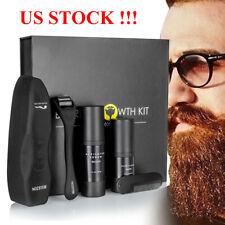 Beard Oil+Beard Clean Kit for Men - Grooms Beard, Mustache, Boosts Hair Growth
