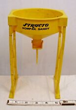Structo Kompack Sandy Yellow Sand Loader Toy For Pressed Steel Trucks