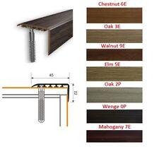 Stair Nosing Edge Trim Step Nose Floor Edging For Carpet Laminate Floor-1m 45x22