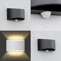 2 X Außenleuchte Bewegungsmelder Fassaden-Wandleuchte Wand-Lampe Sensor IP44 led