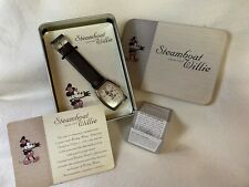 Disney Steam Boat Willie Wrist Watch New in Tin