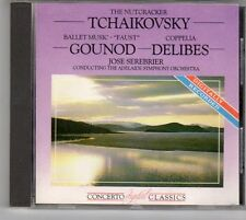 (ES549) Tchaikovsky, Gounod Delibes - 1987 CD