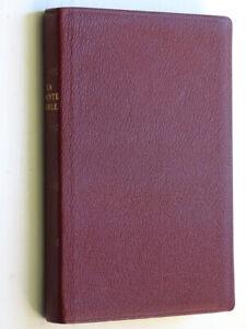 La Sainte Bible Ancien et Nouveau Testament Trad. J. N. DARBY