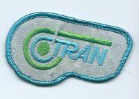 C Tran advertising patch 2 X 3-3/8 #559