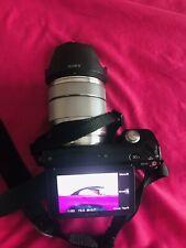 Sony Alpha NEX-5N 16.1MP Digital Camera - Silver (Kit w/ E OSS 18-55mm Lens)