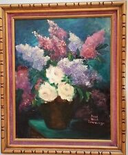 "Listed American Artist - SARAH ROUCH CUMMINGS (1895 - ) O/B 16"" x 20"". Signed"