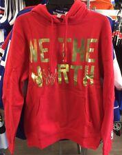 Toronto Raptors Sudadera Con Capucha Con Capucha Baloncesto Mitchell Ness oro rojo que el Norte Xxl